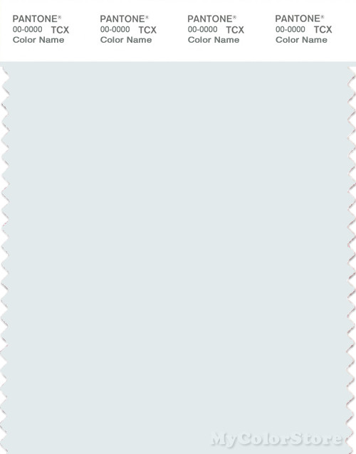 PANTONE SMART 11-4601X Color Swatch Card, Bit Of Blue