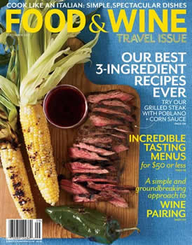 Food And Wine Magazine Subscription (US) - 12 iss/yr