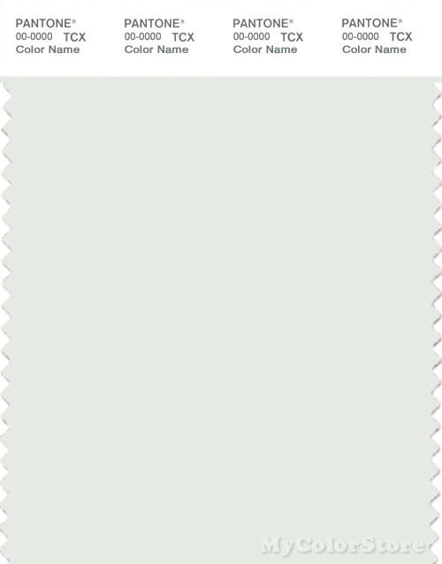 PANTONE SMART 11-4802X Color Swatch Card, Summer Shower