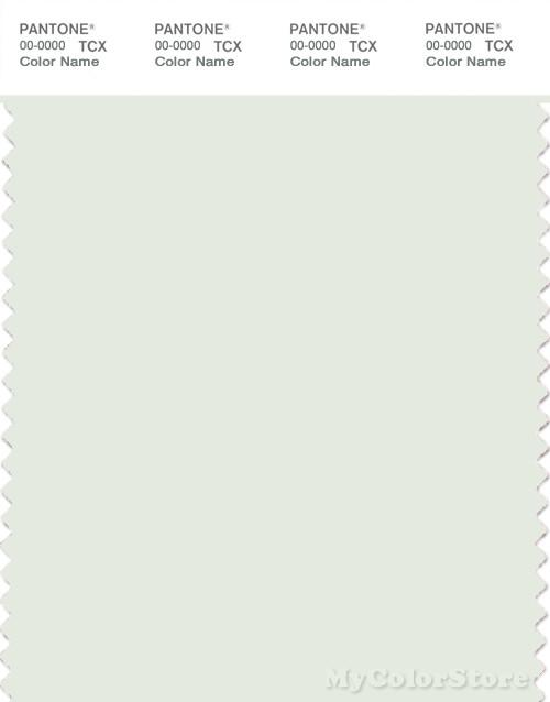 PANTONE SMART 11-4804X Color Swatch Card, Lightest Sky