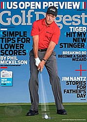 Golf Digest Magazine  (US) - 12 iss/yr (To US Only)