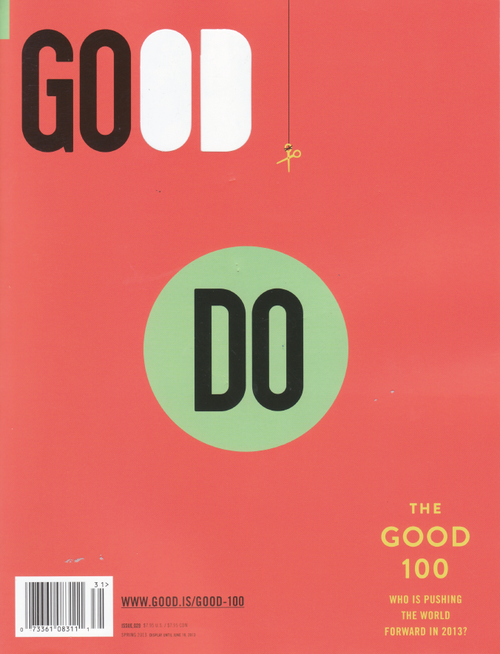 Good Magazine  (US) - 6 iss/yr (To US Only)