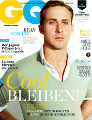 GQ Magazine Subscription (Germany) - 12 iss/yr