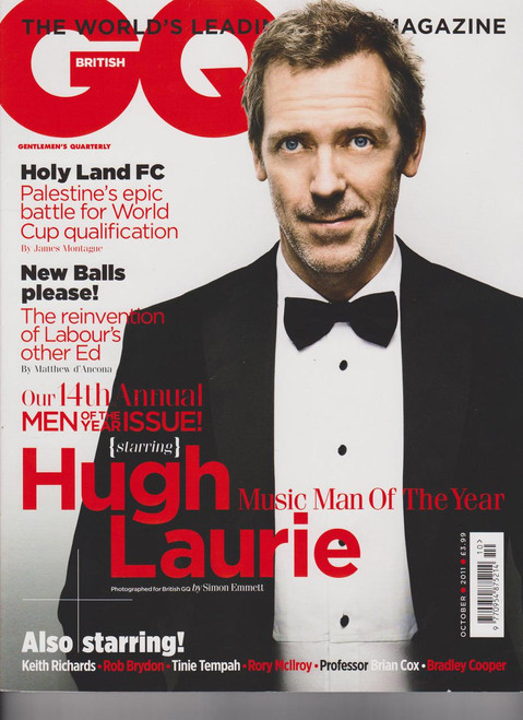 GQ Magazine  (UK) - 12 iss/yr (To US Only)