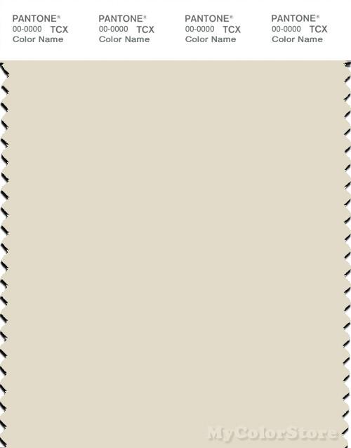 PANTONE SMART 12-0104X Color Swatch Card, White Asparagus