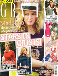 Grazia Magazine  (UK) - 52 iss/yr (To US Only)