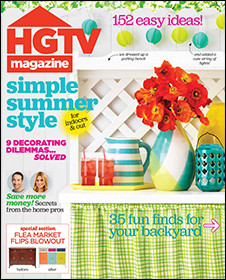 HGTV Magazine  (US) - (PRINT EDITION)