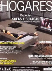 Hogares (Decoracion) Magazine  (Spain) - 12 iss/yr (To US Only)