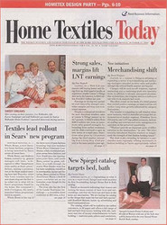 Home Textiles Today Magazine  (US) - 50 iss/yr (To US Only)