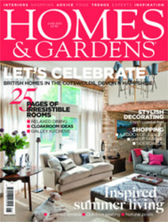 Homes & Gardens Magazine  (UK) - 12 iss/yr (To US Only)