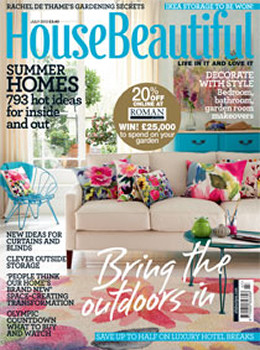 House Beautiful Magazine  (UK) - 12 iss/yr (To US Only)