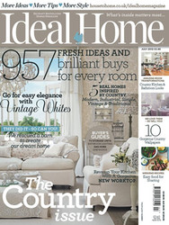 Ideal Home Magazine  (UK) - 12 iss/yr (To US Only)