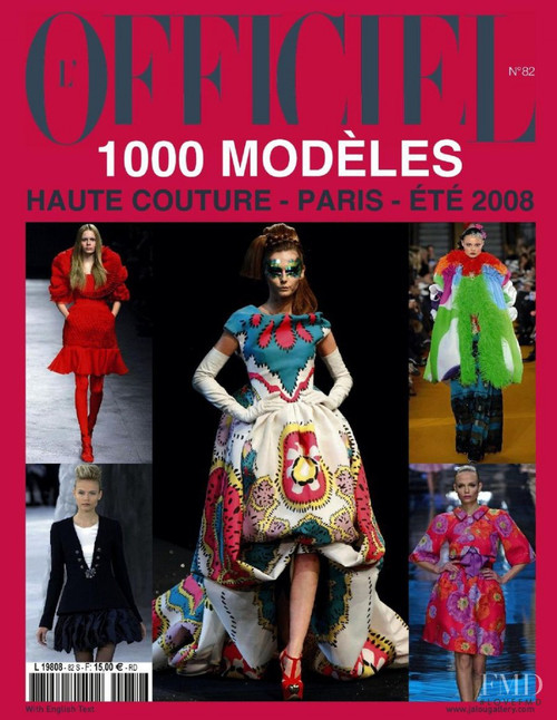 L Officiel 1000 Models High Fashion Magazine Subscription (France) - 2 iss/yr