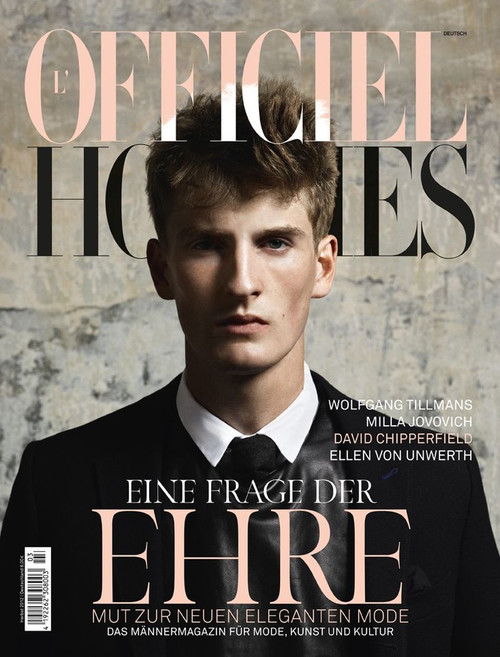 L'Officiel Hommes Magazine  (France) - 4 iss/yr (To US Only)