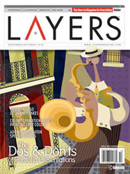Layers Magazine  (US) - 6 iss/yr (To US Only)