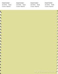 PANTONE SMART 12-0524X Color Swatch Card, Citron