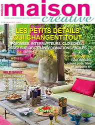 Maison Creative Magazine  (France) - 6 iss/yr (To US Only)