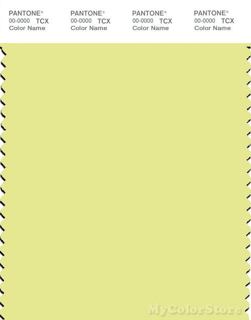 PANTONE SMART 12-0530X Color Swatch Card, Charlock