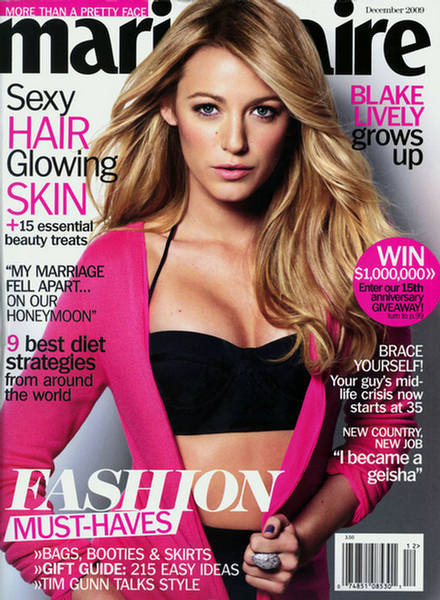 Marie Claire Magazine  (US) - (PRINT EDITION)