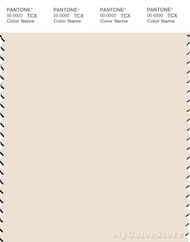 PANTONE SMART 12-0601X Color Swatch Card, Egg Nog
