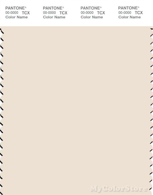 PANTONE SMART 12-0601X Color Swatch Card, Egg Nog