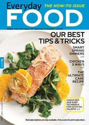 Martha Stewart Everyday Food Magazine Subscription (US) - 10 iss/yr