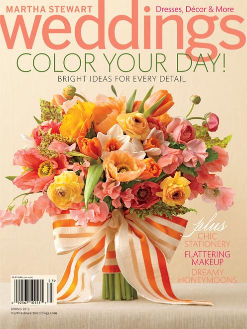 Martha Stewart Wedding Magazine Subscription (US) - 4 iss/yr