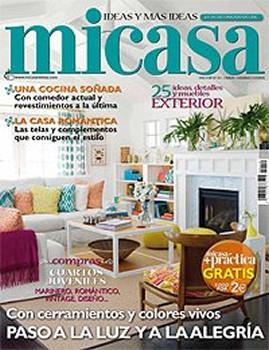 Mi Casa Magazine  (Spain) - 12 iss/yr (To US Only)