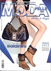 Moda Pelle Shoes And Bags Magazine  (Italy) - 6 iss/yr (To US Only)