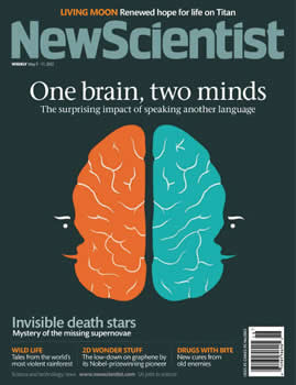 New Scientist Magazine  (US) - 51 iss/yr (To US Only)