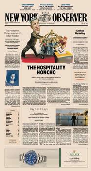 New York Observer Magazine Subscription (US) - 52 iss/yr
