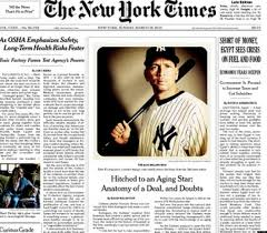 New York Times (7 days - NY Only)  - 365 iss/yr (To US Only)