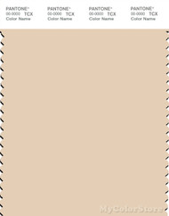PANTONE SMART 12-0709X Color Swatch Card, Macadamia