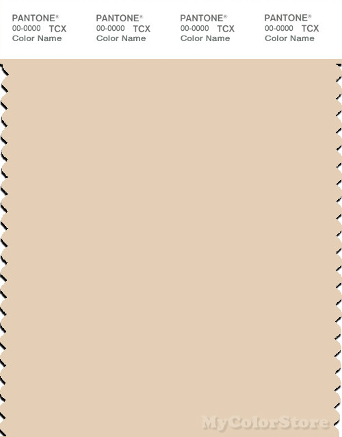 PANTONE SMART 12-0709X Color Swatch Card, Macadamia