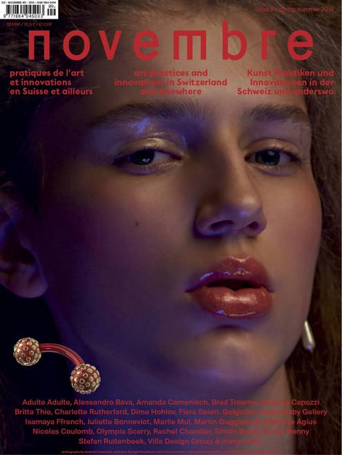 Novembre Magazine Subscription (France) - 2 iss/yr