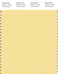 PANTONE SMART 12-0711X Color Swatch Card, Lemon Meringue