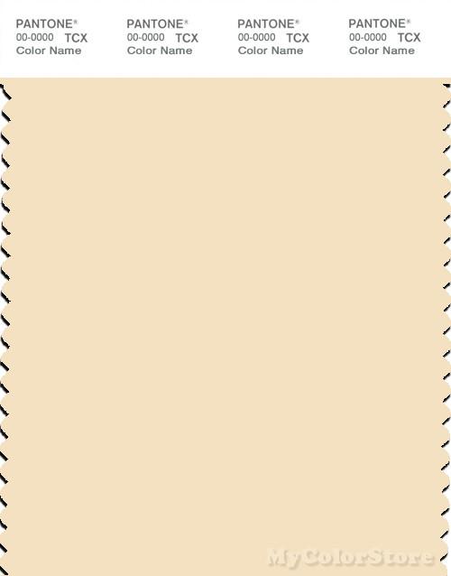PANTONE SMART 12-0712X Color Swatch Card, Vanilla