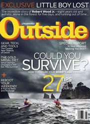 Outside Magazine  (US) - 12 iss/yr (To US Only)