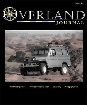 Overland Journal Magazine  (US) - 5 iss/yr (To US Only)