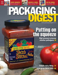 Packaging Digest Magazine  (US) - 12 iss/yr (To US Only)