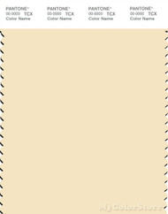 PANTONE SMART 12-0713X Color Swatch Card, Almond Oil