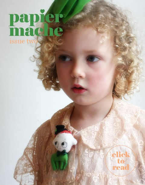 Papier Mache Magazine Subscription (Australia) (Australia) - 2 iss/yr