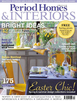 Period Homes & Interiors Magazine Subscription (UK) - 12 iss/yr