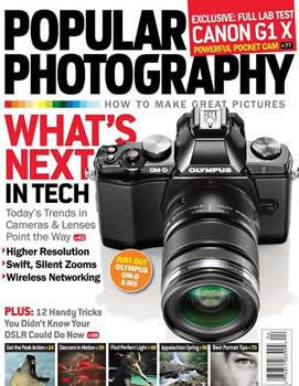 Popular Photograhy Magazine Subscription (US) - 12 iss/yr