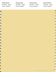 PANTONE SMART 12-0720X Color Swatch Card, Mellow Yellow