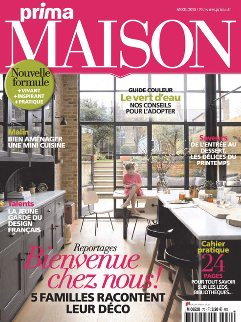 Prima Maison Magazine Subscription (France) - 7 iss/yr