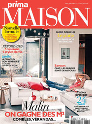 Prima Maison Magazine  (France) - 7 iss/yr (To US Only)