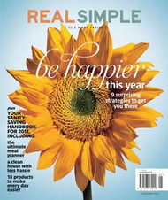 Real Simple Magazine  (US) - 12 iss/yr (To US Only)