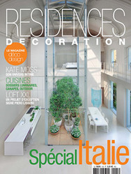 Residences Decoration Magazine  (France) - 6 iss/yr (To US Only)
