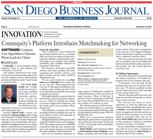 San Diego Business Journal Magazine Subscription (US) - 52 iss/yr